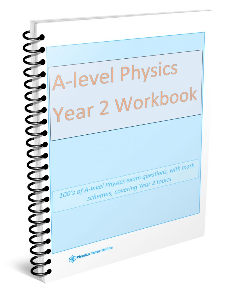A level Physics Year 2 workbook